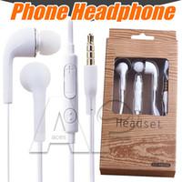 J5 наушники для наушников для iPhone 7 6 Samsung S8 Plus с микрофоном в ухе 3,5 мм нагреватель Earbud Hearbud Samsung Galaxy S4 S7 S6