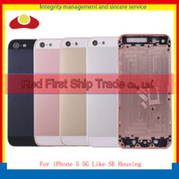 High Quality For iPhone 5 5G Housing and 5 Like SE Back Cove...