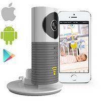 Kablosuz Wifi Bebek Monitörü IP Kamera Akıllı Uyarılar Nightvision Interkom Wifi Kamera desteği iOS Android