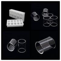 المرذاذ بيركس زجاج أنبوب واضح E سيج الفرعية تانك Vape استبدال أنبوب ل Kanger Subtank Plus Mini-C Toptank Mini Nano Subvod C Atomizers