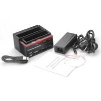 을 Freeshipping 미국 플러그 전문 2.5 인치 3.5 인치 SATA IDE HDD 도킹 스테이션 기본 하드 디스크 드라이브 복제 USB HUB 카드 892U2IS