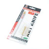 Giappone WiT Strumenti di riparazione di marca Manico in lega di alluminio Burin W-900 Metallo Graver con una lama tagliente 16 # per la riparazione di PCB Mobile, incisione