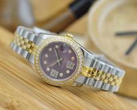 الساعات الفاخرة الصلب المرأة كوارتز الماس الذهب ساعة اليد أزياء السيدات اللباس ووتش عالية الجودة relogio feminino سوبر هدية لسيدة