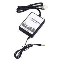 Автомобильный MP3-интерфейс USB / SD кабель для передачи данных аудио цифровой CD-чейнджер не требуется батарея Нет сигнала мешать DC 12V для Honda 2.4