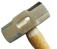 2.7kg Sledge Hammer, strumento non scintille, Attrezzo manuale di sicurezza in alluminio Bronzo Archetti