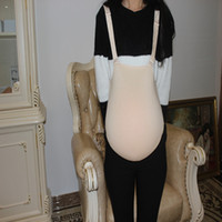 Fake pregnant belly in cloth bag silicone belly tasteless fa...