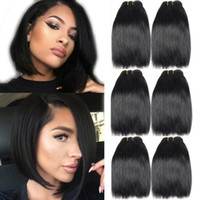 Top Quality 6PCS Lot Unprocessed Brazilian Straight Virgin H...