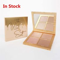 2017 New Kylie 4 Color Powder The wet Set Bronzer & Highligh...