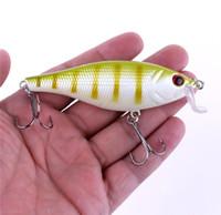 새로운 플라스틱 Rattlin baits 다이빙 Wobblers 미끼 13.5g 7.5cm베이스 메기 잉어 송어 농어 인공 낚시 태클