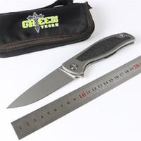 Green Thorn F95 FIN складной нож K110 Blade TC4 титановый сплав из углеродного волокна обработка открытый кемпинг охотничий карманный фруктовый нож EDC инструмент