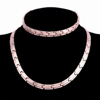 New Design Rose gold Plated Gold Color Stainless Steel neckl...