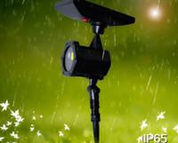 태양 광 정원 잔디 레이저 야외 원격 제어 빨강 및 녹색 레이저 광 투영 램프