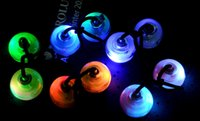 LED Flashing Thumb Chucks with Exchangable Silicon Balls Con...