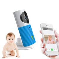 Clever Dog Caméra intelligente Sécurité à la maison Wifi Caméra IP Moniteur de bébé Interphone Audio Vision nocturne Détection de mouvement