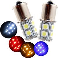 10X 1156 BA15S P21W 13 SMD 5050 13 LED 13smd queue de frein Ampoule Feu Clignotant Lampe Auto Led Ampoule Lumière 12 V