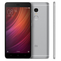 "Original Xiaomi Redmi Note 4 4G LTE PLALEUR PLALEUR 3GB RAM 16GB / 32GB / 64GB ROM Helio X20 Deca Core Core Android 5,5 ""13.0mp"