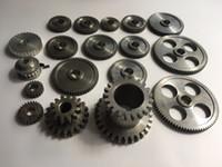 18 قطعة / المجموعة 0618 مخرطة صغيرة التروس، معدن آلة قطع التروس، تراكم مخرطة