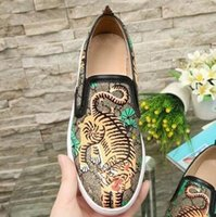 Handmade 100% Genuine leather Casual Shoes womens Canvas sho...