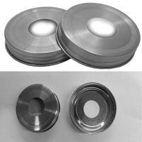 Adattatori per coperchio dispenser per pompa di sapone resistenti alla ruggine in acciaio inossidabile all'ingrosso per barattoli di vetro, palla e inscatolamento (bocca regolare)