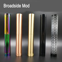 Broadside Mod Double Tube Extended Edition Mechanical Mod fi...