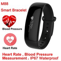 M88 Smart Band Blood Pressure Wrist Watch Pulse Meter Monito...
