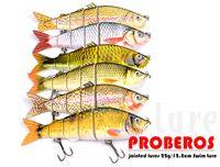 Beste Salzwasserfischen Big Game ABS Platic Köder 26 cm 177g 5 Abschnitte Großen Bass Köder 4/0 # Haken Angelgerät