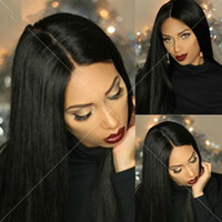 Full Lace Human Wig Peruvian Virgin Hair Straight Hair Wigs ...