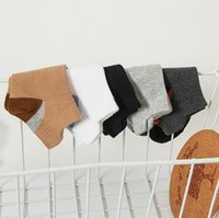 BON A ++ Spring Newest Fashion Fashion Couleur Chaussettes pour hommes Coton Sweat Mouvement Désodorant Short Tube Chaussette NW025