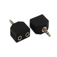 3.5mm 1 Maschio a 2 Femmina Audio Splitter per Cuffie Adpater per Cuffie Auricolari Convertitore Connettore Splitter Cuffie 600 pz