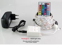 높은 루멘 SMD 5050 LED 스트립 DC12V tira led 조명 5m / 롤 300led 유연한 바 빛 비 방수 실내 장식 조명
