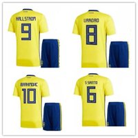 world cup 2017- 18 Sweden Jersey Soccer Ibrahimovic Football ...