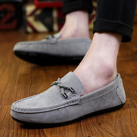 2017 Spring & Autumn Man Moccasin- gommino Stitching Style EU...