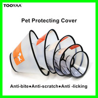 Elizabeth Ring Pet Dog Cat Protective Anti- Bite Neck Cover ...