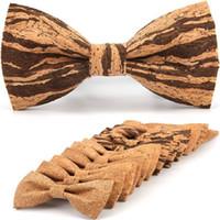 Softwood بووتي 12.5 * 7 سنتيمتر 12 أنماط خمر الخشب التقليدي bowknot للأعمال fbusiness باتي الزفاف diy خشبية القوس التعادل للبالغين