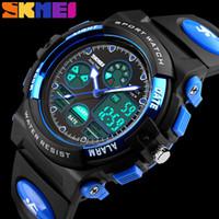 SKMEI детские спортивные часы мода дети цифровые светодиодные часы для девочек мальчиков водонепроницаемый мультфильм студентов наручные часы 1163