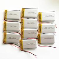 Оптовая 3.7 В 1000 мАч 753050 Литий-Полимерный LiPo Аккумулятор Для DVD PAD Планшетный ПК Power bank мобильный телефон