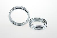 Acciaio inossidabile pene anello metallo cazzo anello palla barella maschile ritardo eiaculazione prodotti del sesso per gli uomini anello del sesso del pene