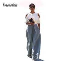 Wide leg pants pantalones mujer 2017 women pants summer fash...