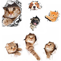 3D Cats Wall Sticker Toilet Stickers Hole View Vivid Dogs Bathroom Room Decoration Animal Vinyl Decals Art Sticker Wall Poster  sc 1 st  DHgate.com & Wholesale Dog Box Designs - Buy Cheap Dog Box Designs from Chinese ... Aboutintivar.Com