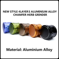4 Layers Aluminium Alloy Chamfer Grinders New Arrivals 63mm ...
