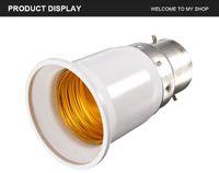 B22 naar E27 Base LED Lichtlamp Bulb Brandwerende Houder Adapter Converter Socket Change
