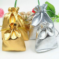 مجوهرات جواهر الحقائب هدية أكياس تخزين الذهب فضي الرباط الحرير المجوهرات حقيبة عيد الميلاد هدايا عيد الميلاد حزب الحقيبة حقيبة