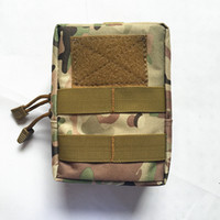 5 Colors Tactical Molle Accessories Bag Nylon Small Medical ...