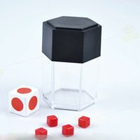 100sets New Japan Crash Dice Explosive dice magic tricks pro...
