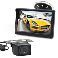 5Inch LCD Display Rear View Monitor Car Monitor + IR Night V...