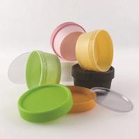 Yüksek kalite Doldurulabilir Boş Kavanoz Kutusu Şişe Plastik Yuvarlak Temizle Konteynerler fit Dudak Balsamı Kozmetik Losyon Pot Gıda BPA Ücretsiz