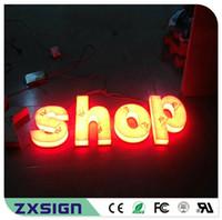 Factory Outlet Benutzerdefinierte hohe Helligkeit im Freien Acryl LED Letra Luminosa, volle Acryl lettre Lumineuse