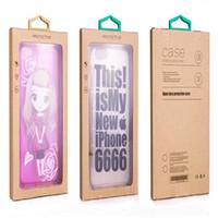 Красочный дизайн личности роскошные окна ПВХ упаковка розничная упаковка бумажная коробка для смарт-телефона сотовый телефон случае подарочный пакет аксессуары DHL
