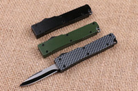 mini Key buckle knife aluminum T6 green black carton fiber d...
