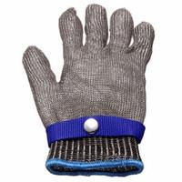 Sicherheitsarbeitshandschuh Cut Proof Edelstahl Metall Mesh Butcher Meeresfrüchte Handschuh High Performance Level 5 Schutz